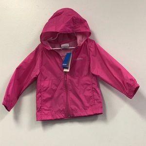 Columbia Rain Jacket Girls Size 3T NWT